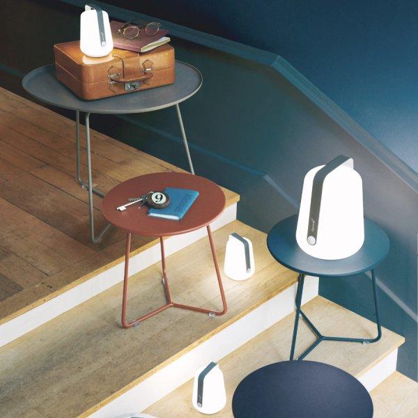 Lot de 3 lampes H.12 cm Balad gris orage - Fermob