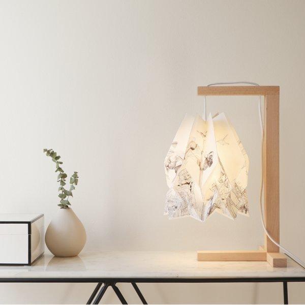 Lampe de table Origami Endangered collection - Orikomi