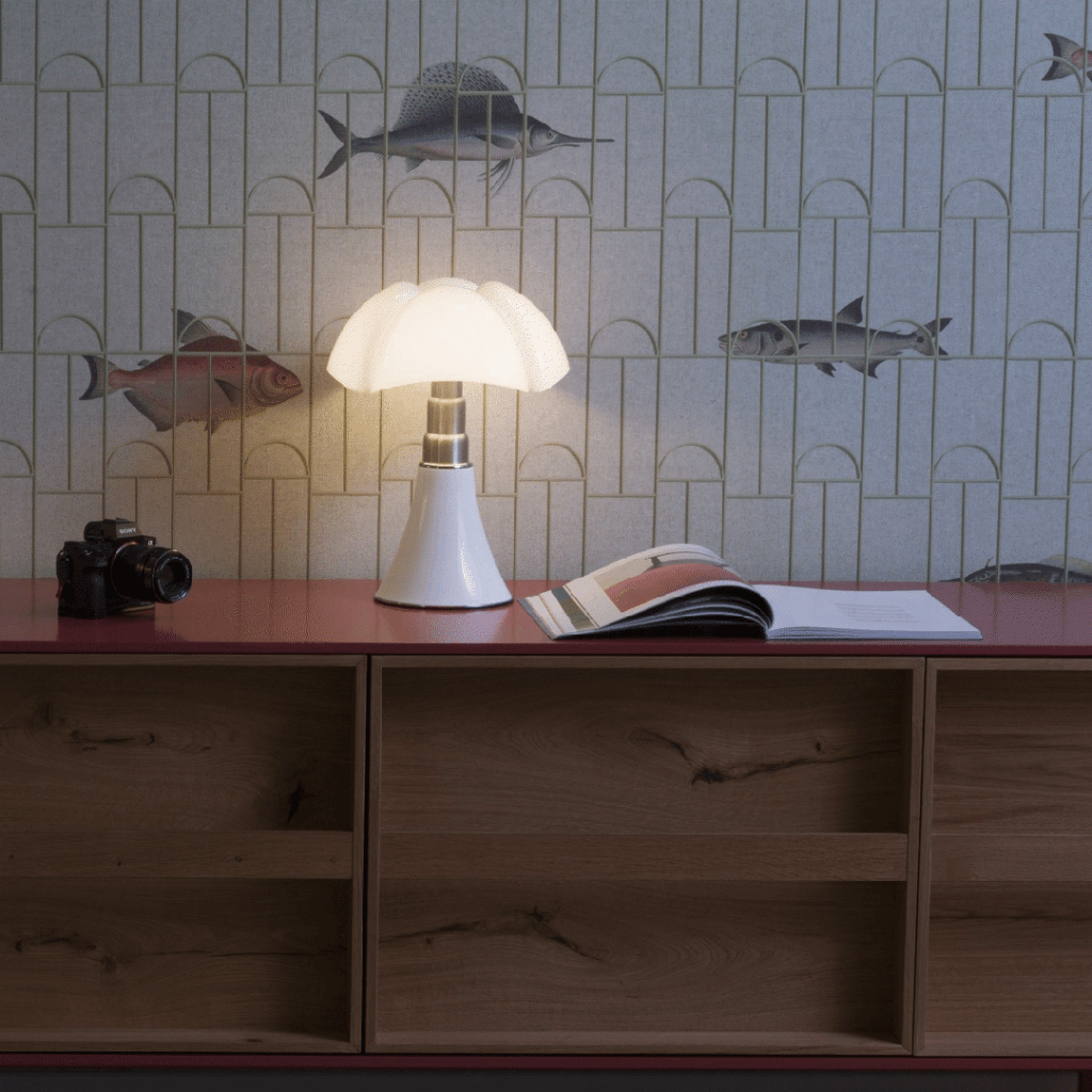 Lampe de table Mini Pipistrello Blanc - Martinelli Luce