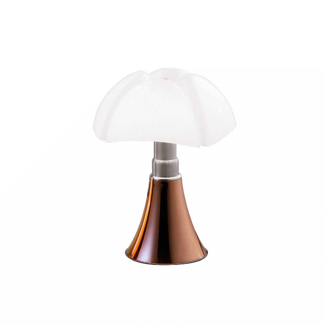 Lampe de table Mini Pipistrello Cuivre - Martinelli Luce