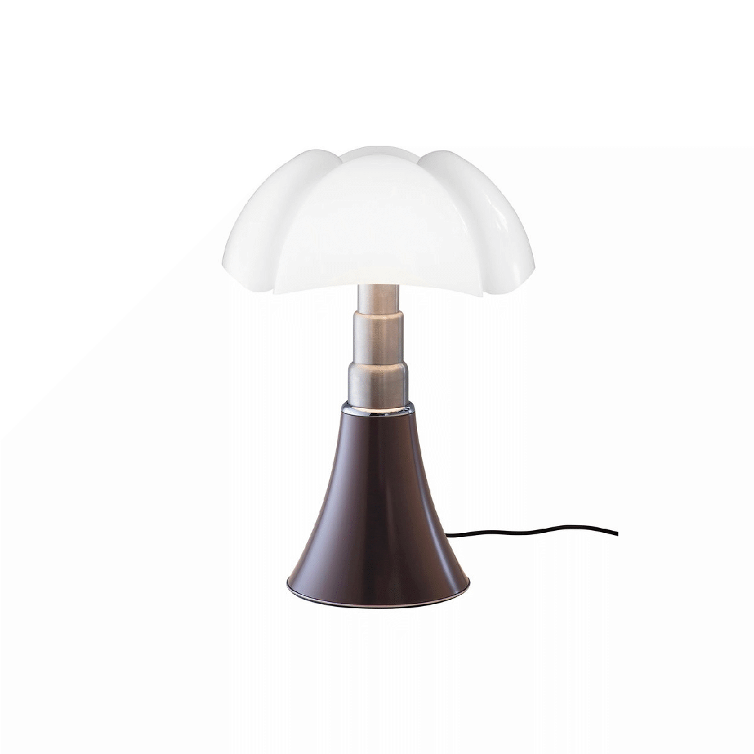 Lampe de table Mini Pipistrello Marron - Martinelli Luce