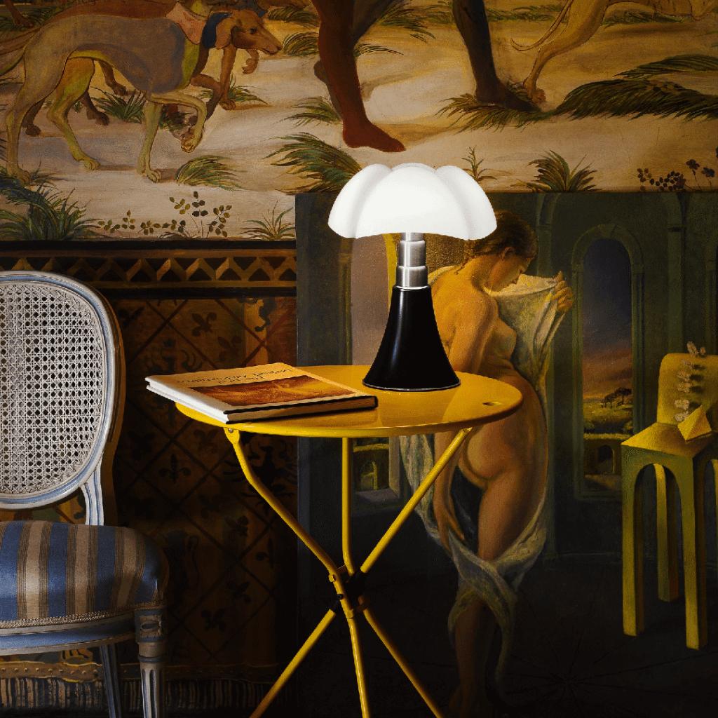 Lampe de table Mini Pipistrello Vert - Martinelli Luce