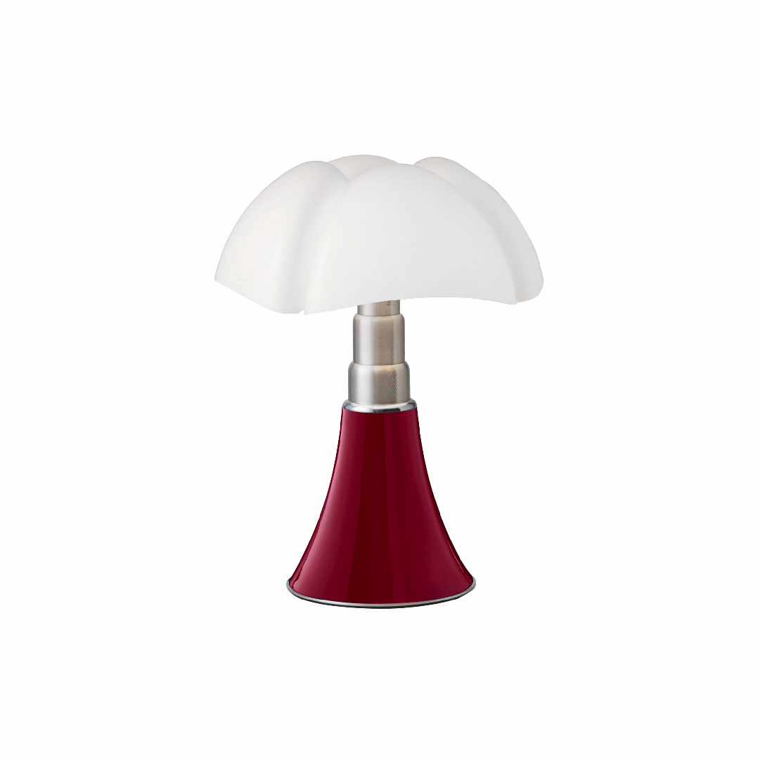 Lampe de table Mini Pipistrello Rouge - Martinelli Luce