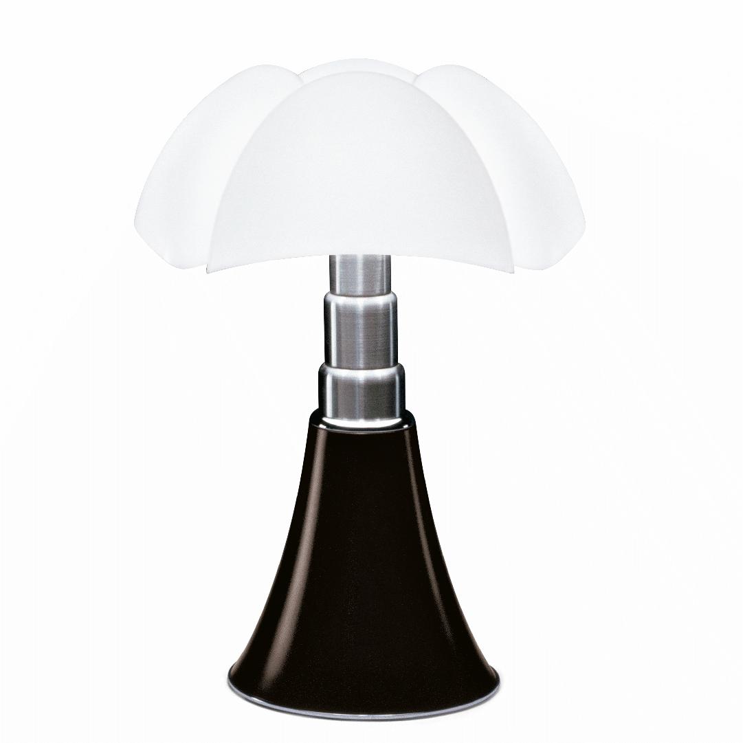 Lampe de table Pipistrello H. 66 à 86 cm Noir - Martinelli Luce