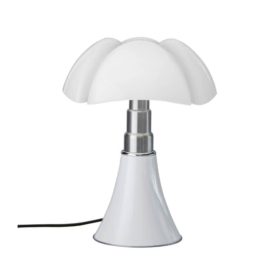 Lampe de table Pipistrello H. 50 à 62 cm Blanc - Martinelli Luce