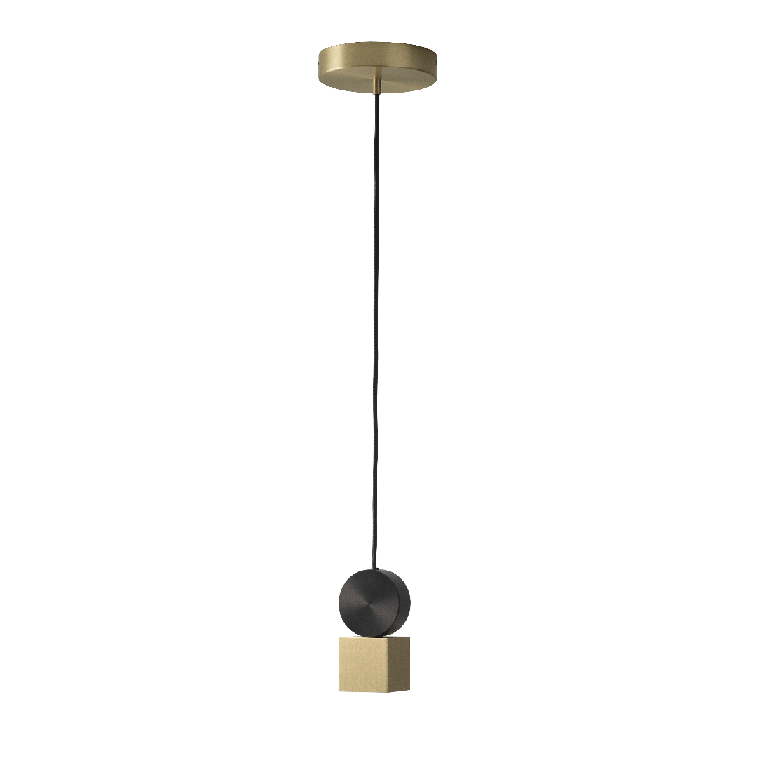 Suspension Calée Satin Gold V1- CVL Luminaires