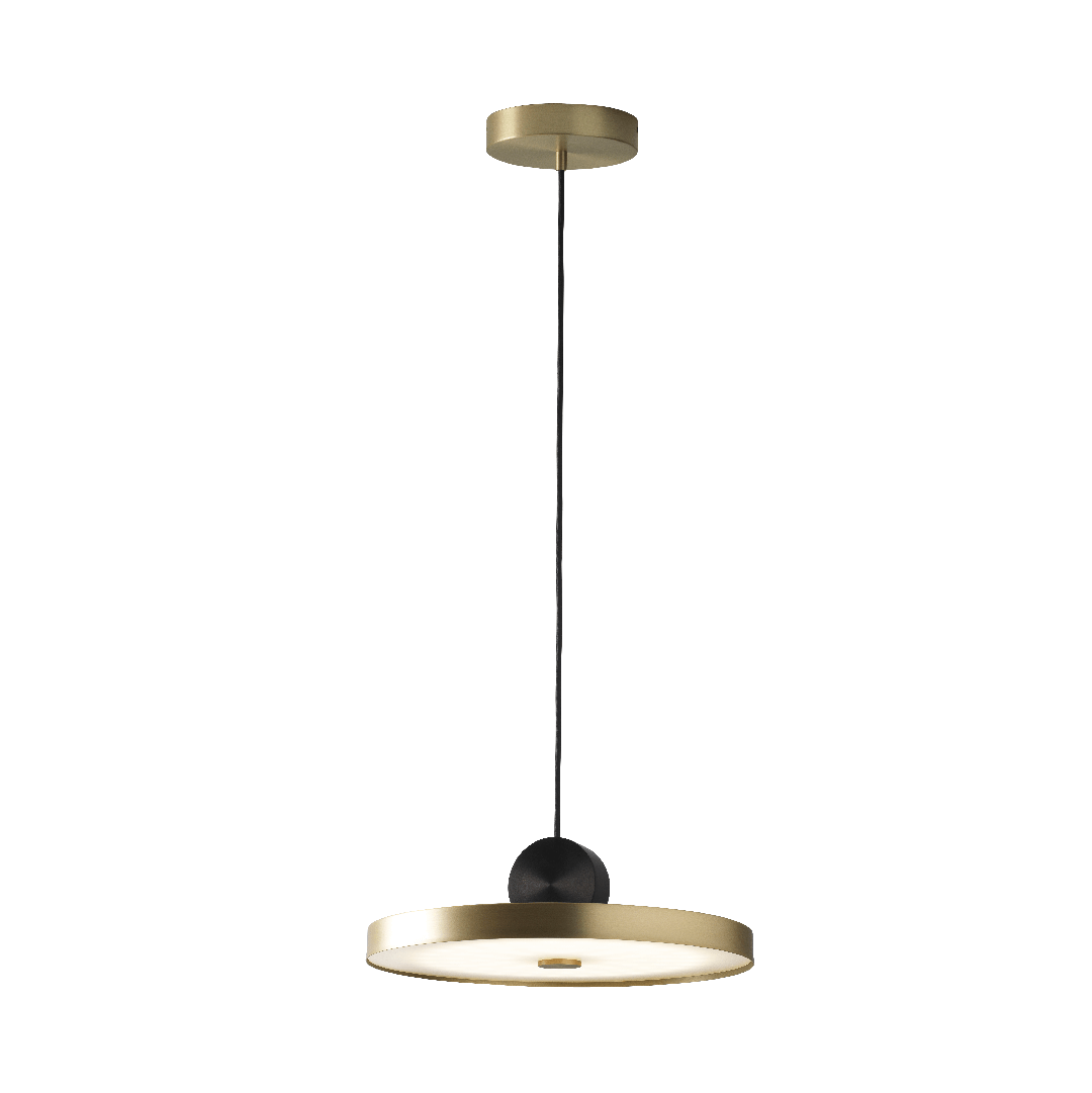 Suspension Calée Satin Gold V4- CVL Luminaires