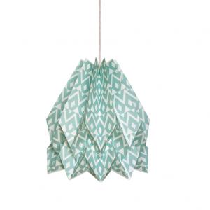 Hängeleuchte Origami Native Tupi Lagunenblau - Orikomi