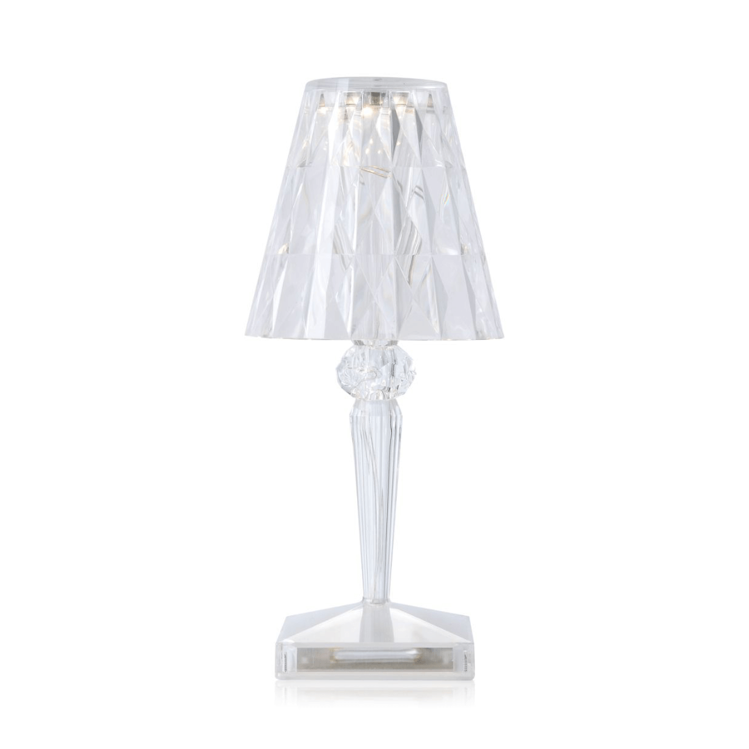 Kartell Lampe de table BATTERY cristal