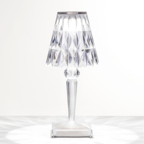Lampe de table BATTERY cristal - Kartell