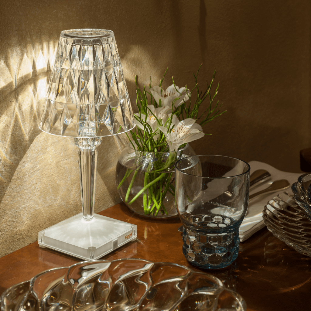 Lampe de table BATTERY cristal - Kartell