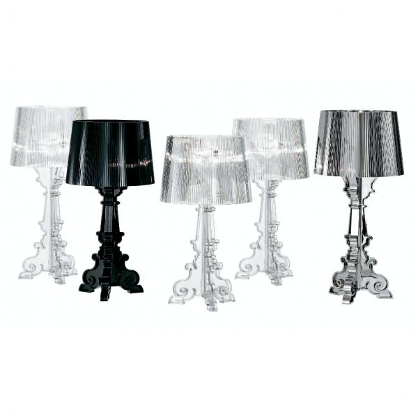 Tischleuchte BOURGIE kristall - Kartell