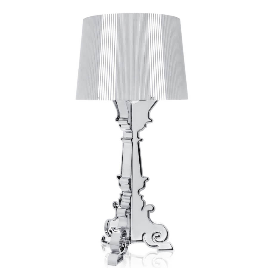 Lampe de table BOURGIE chrome - Kartell