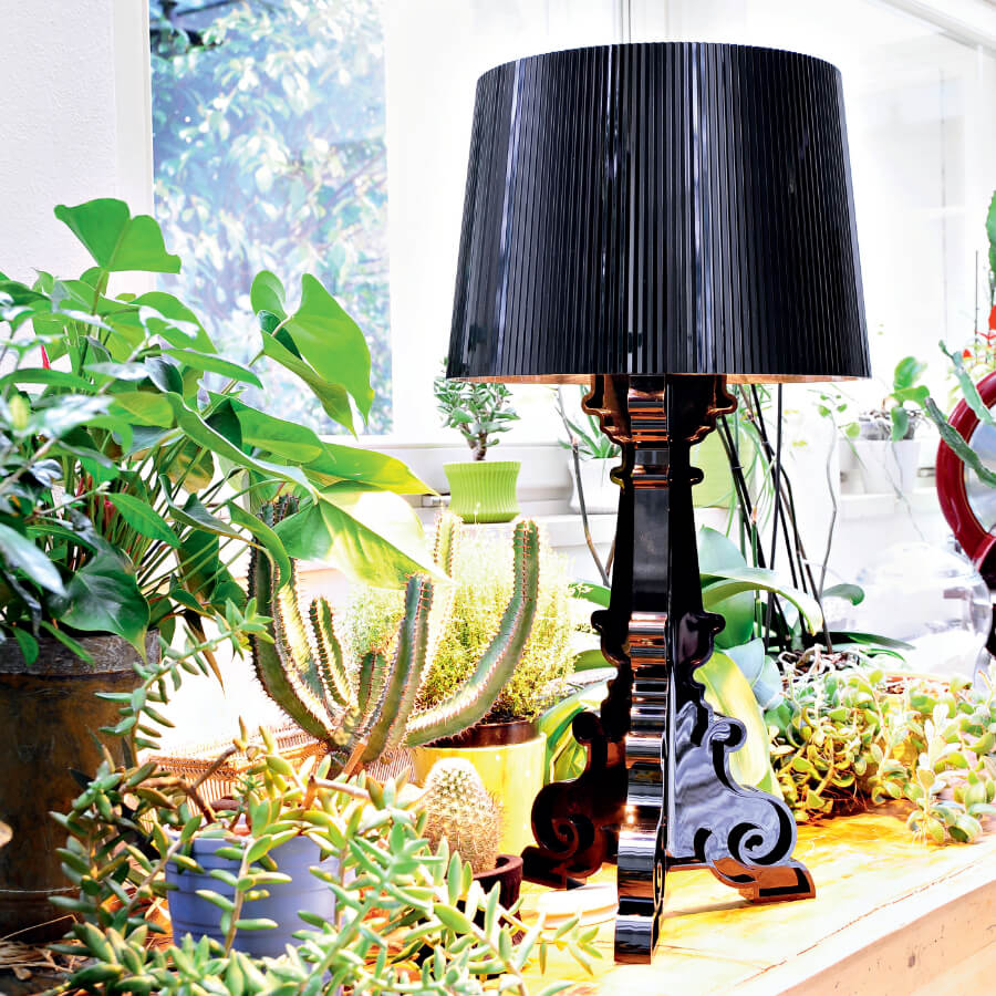 Lampe de table BOURGIE glossy black - Kartell