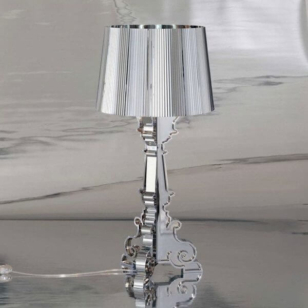 Lampe table Bourgie Chrome