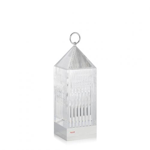 LANTERN lampe ohne Kabel kristall- Kartell