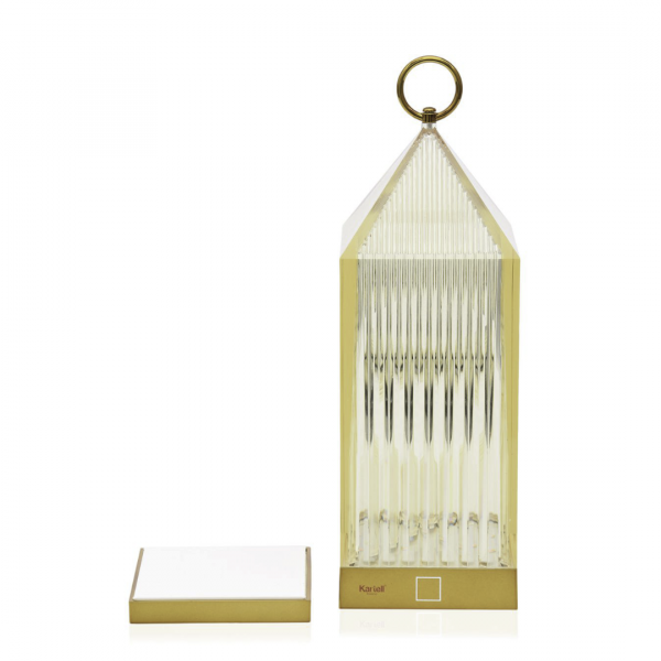 Lampe sans fil LANTERN ambre - Kartell