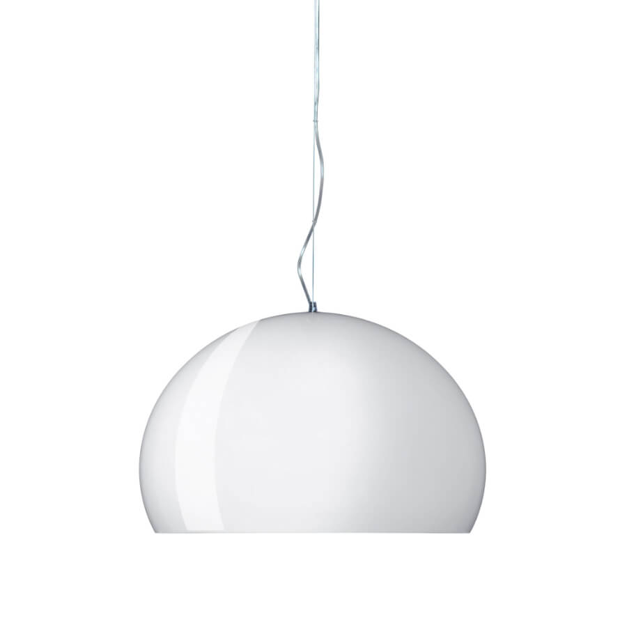 Suspension FL/Y glossy white - Kartell