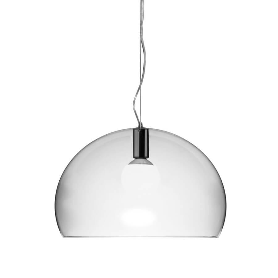 Lampe Kartell Suspension FL/Y crystal