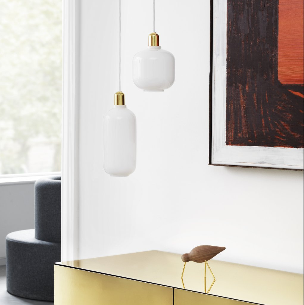 Suspension Amp brass small- Normann Copenhagen