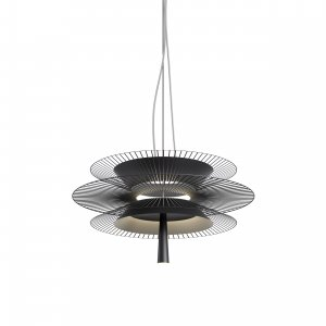 Suspension Gravity noire - Maison Forestier