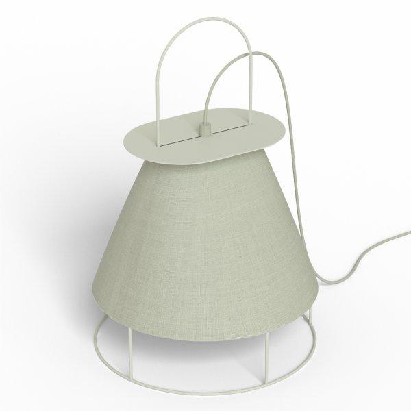 Lampe de table Claude light grey - HARTÔ