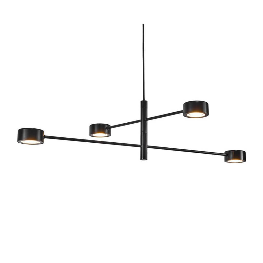 Suspension Clyde noire - Nordlux