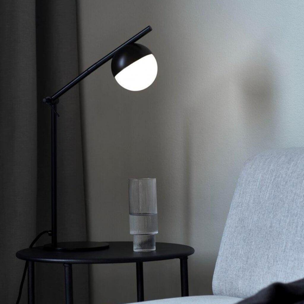Lampe de table Contina noire - Nordlux