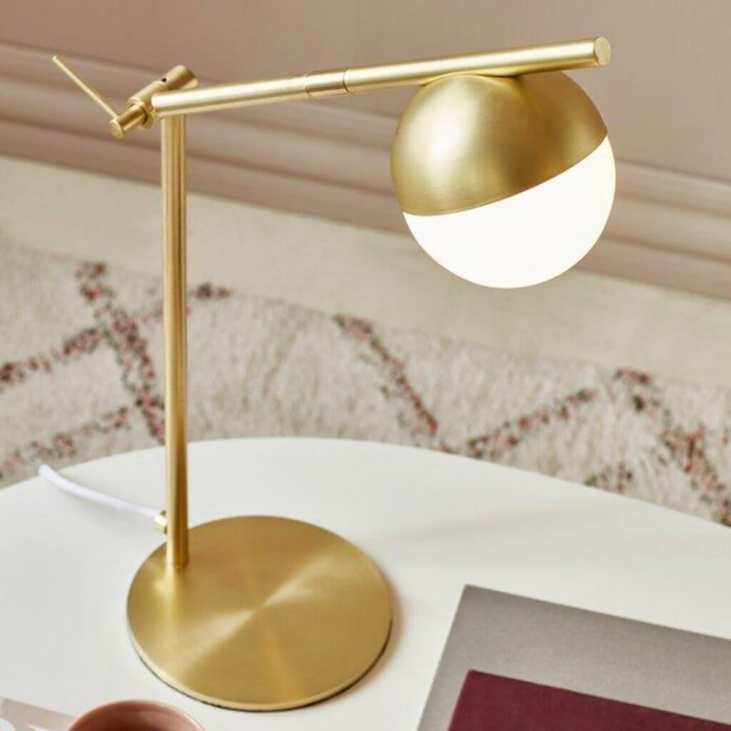 Lampe de table Contina dorée - Nordlux