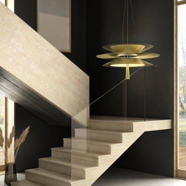 Suspension Gravity noire - Maison Forestier