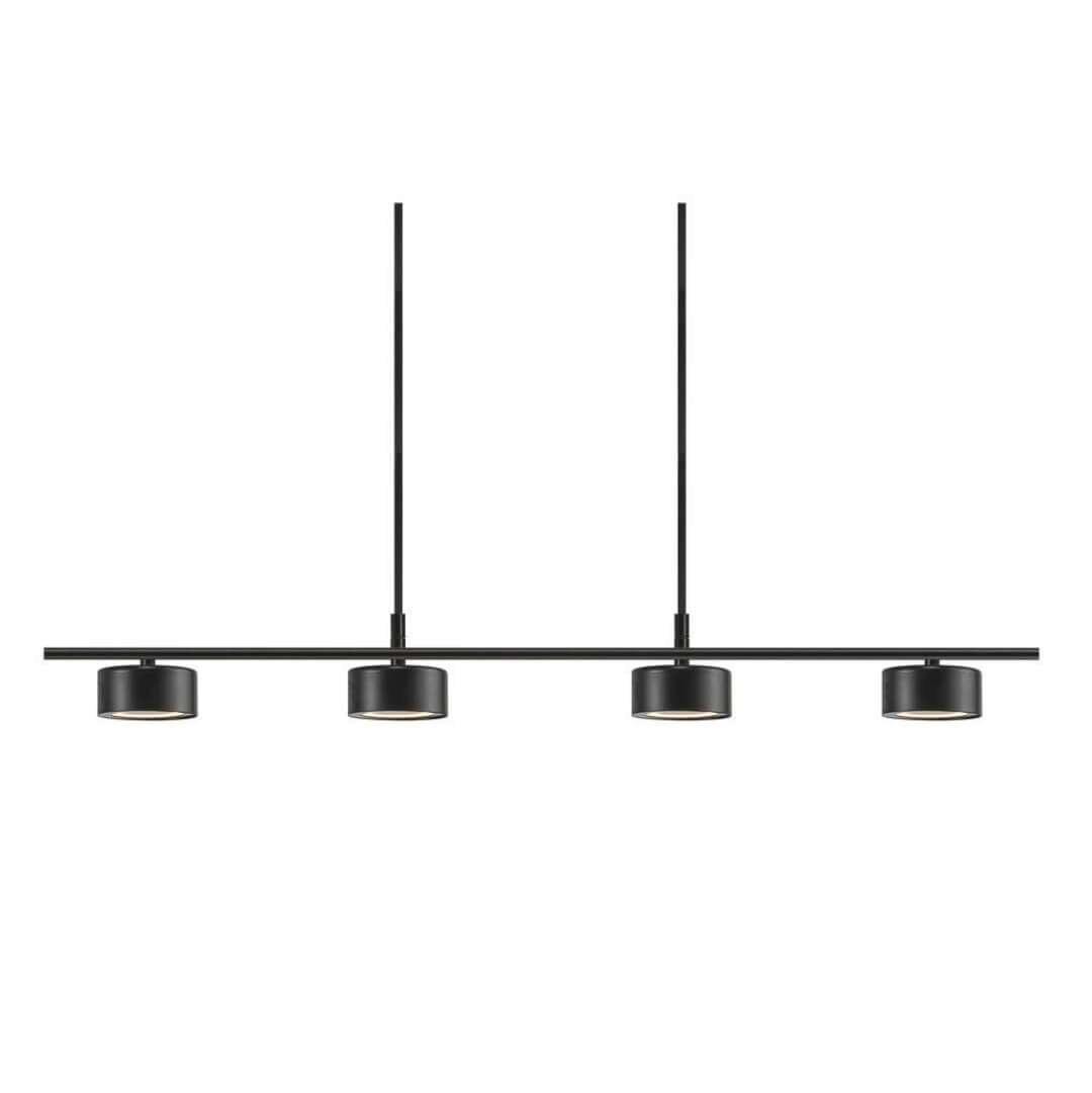 Suspension rail Clyde noire - Nordlux