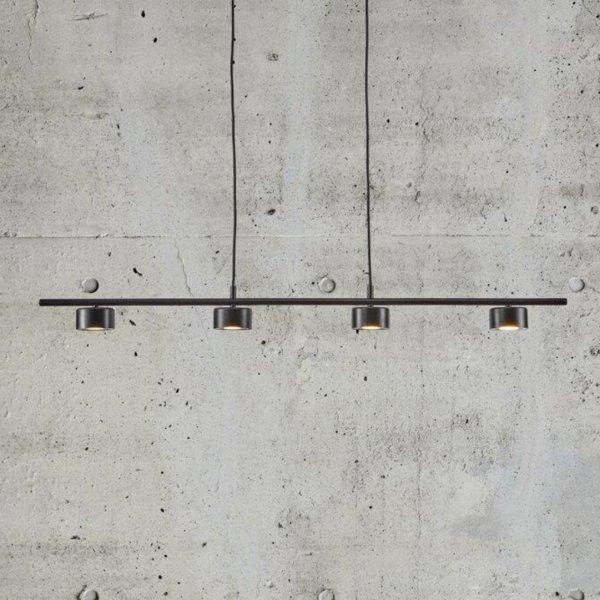 Suspension rail Clyde noire - Nordlux