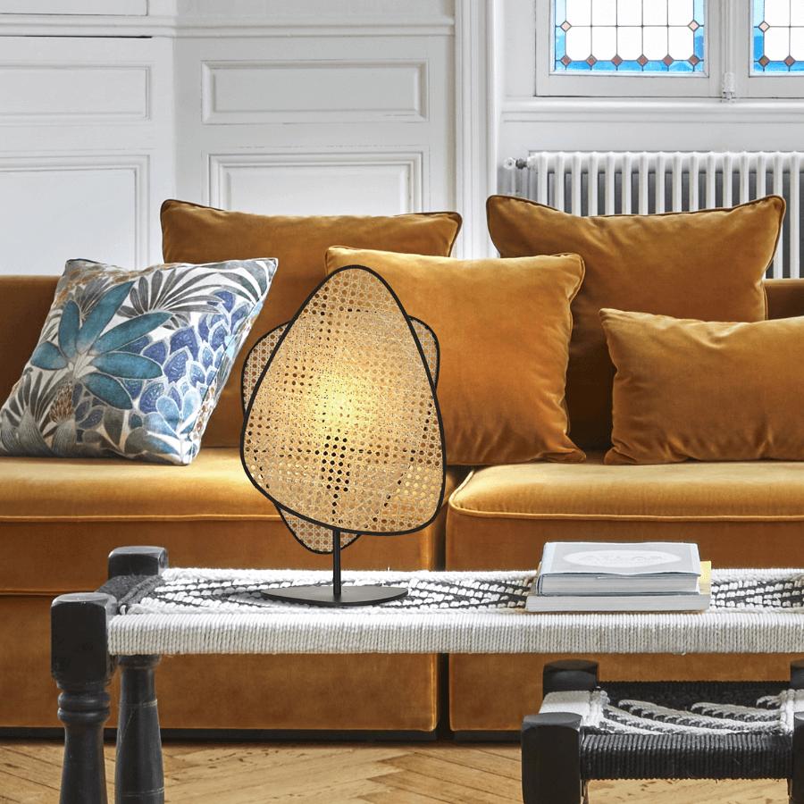 Lampe de table Screen en cannage - Market Set