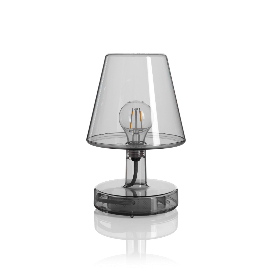 TRANSLOETJE Grey Lampe de table - Fatboy