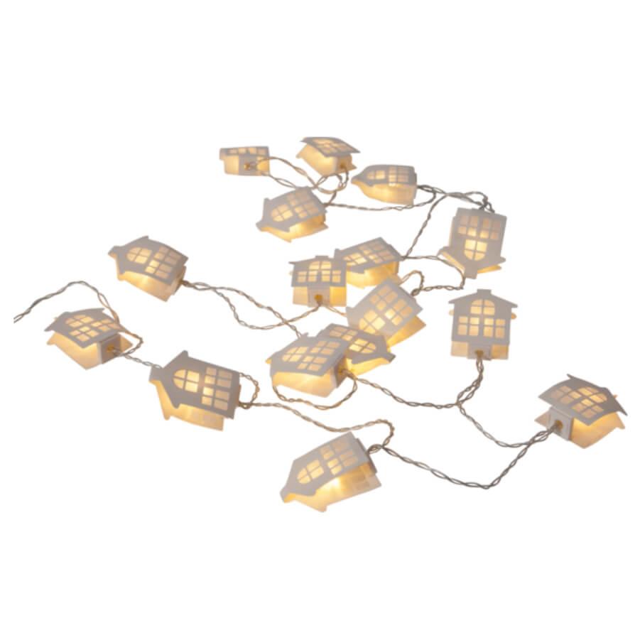 Leuchtende Lichterkette Home Sweet home