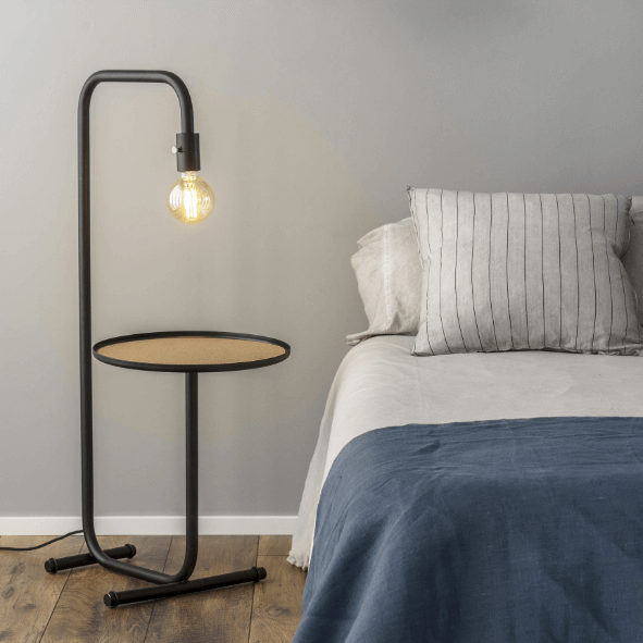 Lampe de chevet avec tablette - Faro Barcelona
