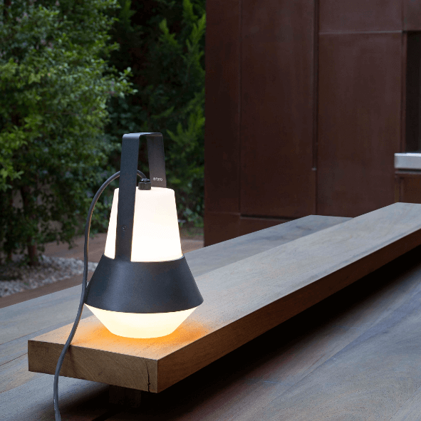 Lampe portable Cat noire - Faro Barcelona