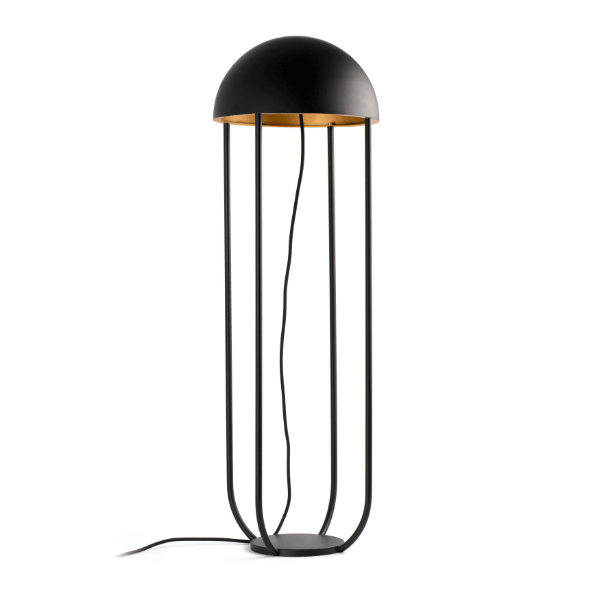 Lampe de sol Jellyfish noire - Faro Barcelona