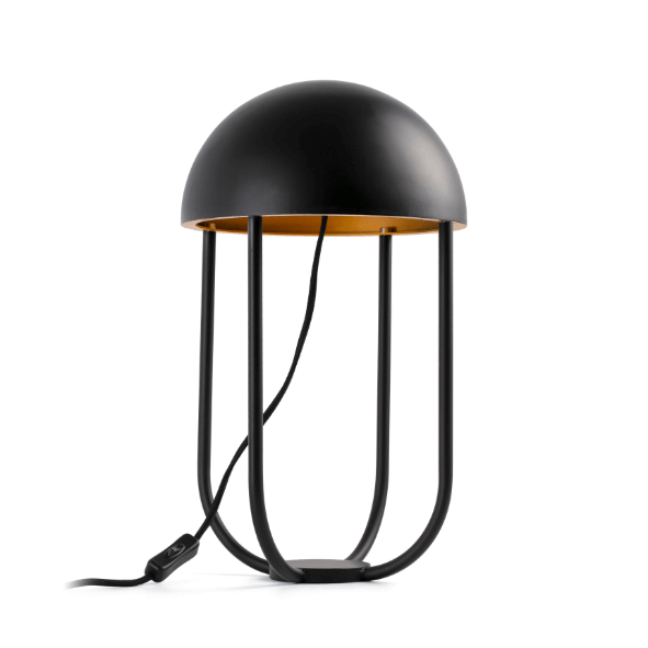 Lampe de table Jellyfish noire - Faro Barcelona