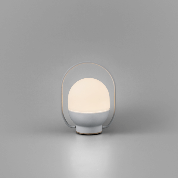 Lampe portable Take Away blanche - Faro Barcelona