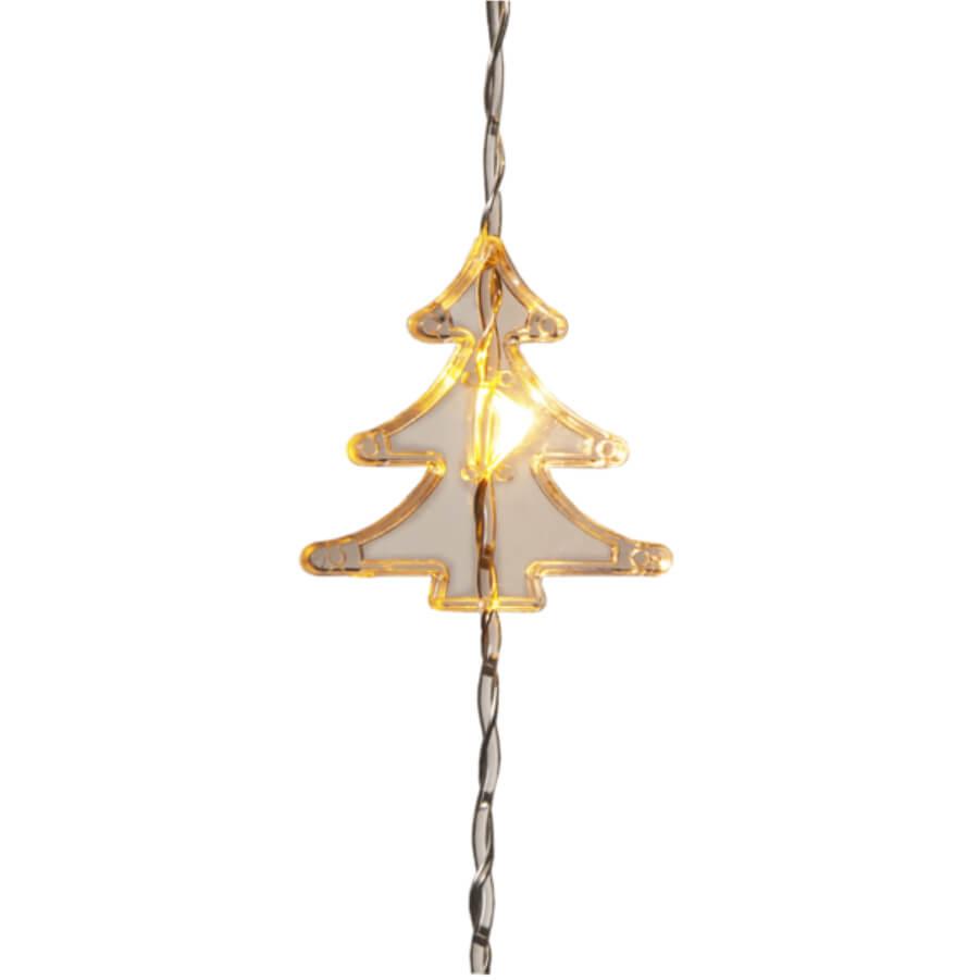 Vorhang LED O Tannenbaum