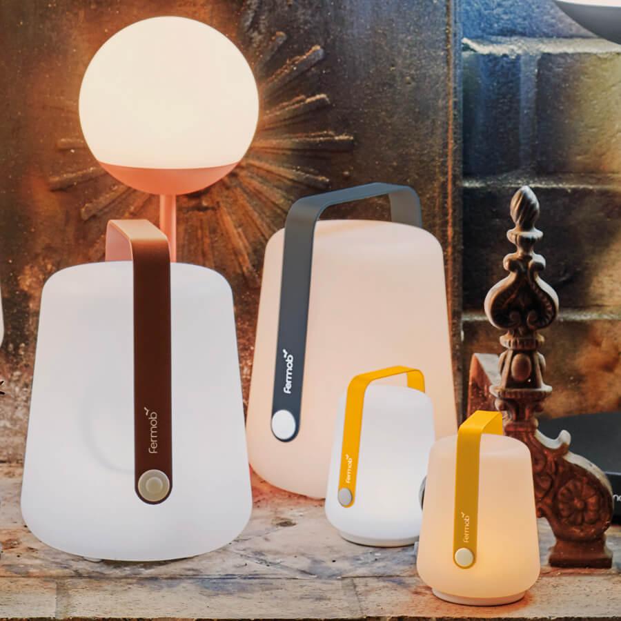 Lampe H.38 cm Balad Gris Carbone - Fermob