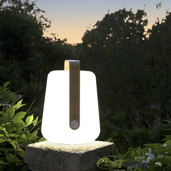 Lot de 3 lampes H.12 cm Balad Bamboo Edition Limitée - Fermob