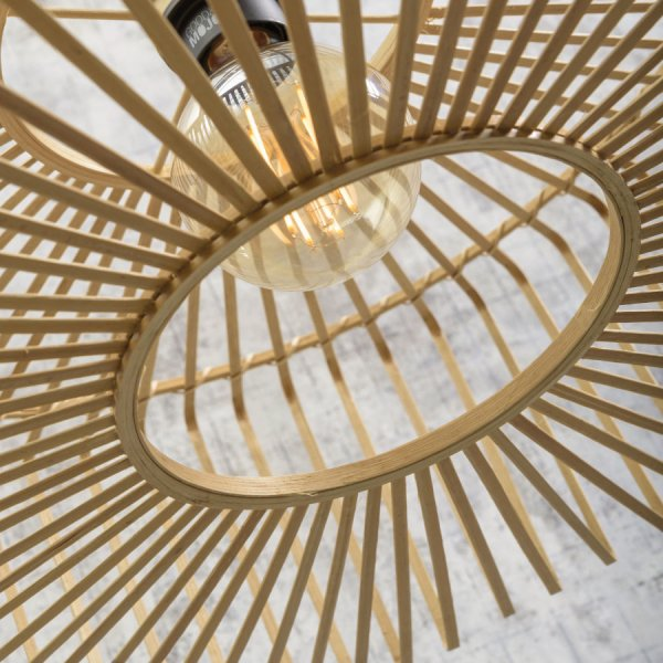 Plafonnier Bromo Bambou Good & Mojo