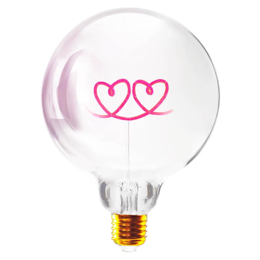 Ampoule Double coeur