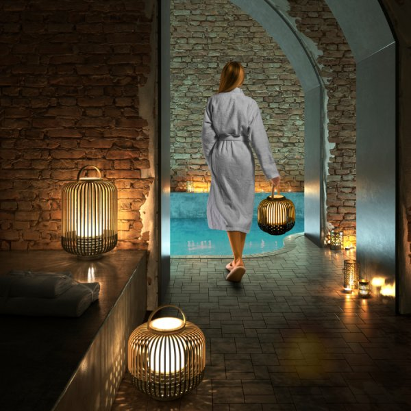 Lampe sans fil Take A Way XS noire - Le Forestier