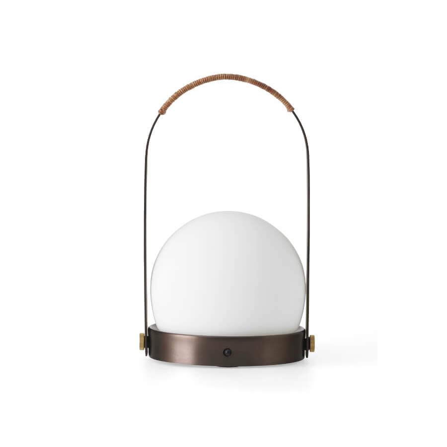 Lampe sans fil Carrie vert olive - Menu