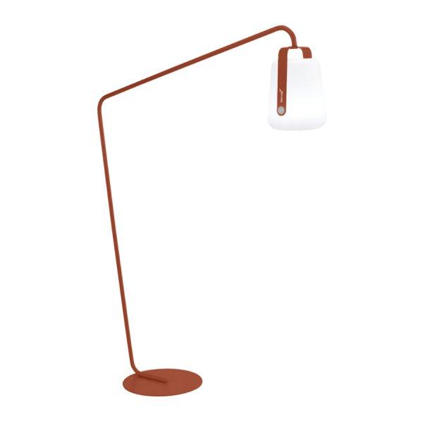 Pied déporté lampadaire ocre Fermob