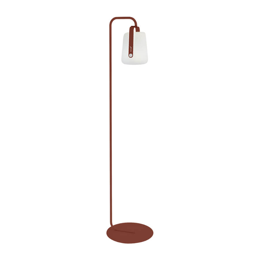 Pied simple lampadaire ocre Fermob