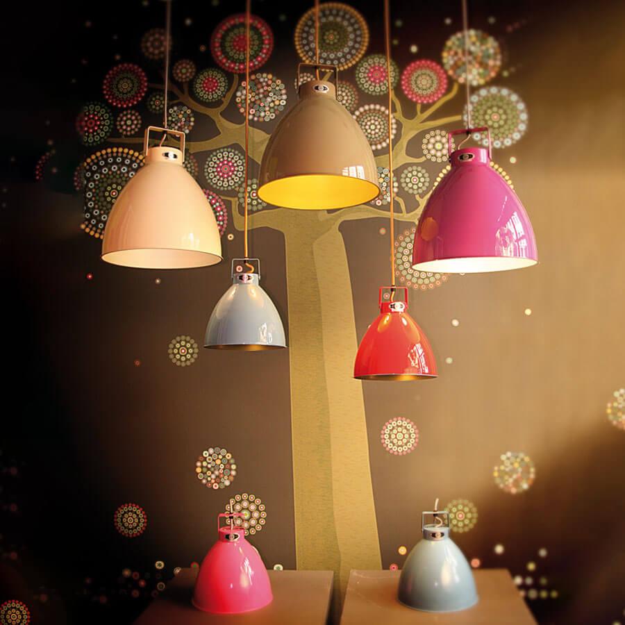 Lampe de bureau Signal SI333 jaune moutarde - Jieldé